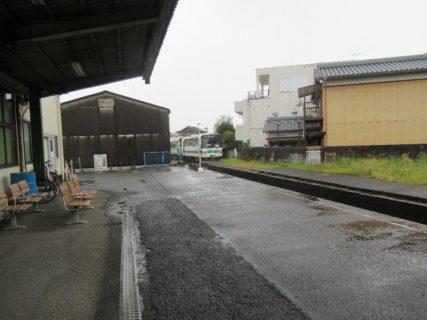 紀伊御坊駅は、和歌山県御坊市薗にある紀州鉄道の駅。