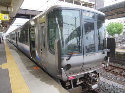 予定変更、御坊駅から和歌山駅に向かいます。