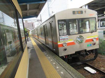 水間鉄道水間線は、大阪府貝塚市の貝塚駅から水間観音駅までの路線。