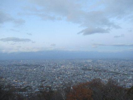 藻岩山山頂展望台からの絶景は見事でしたね。
