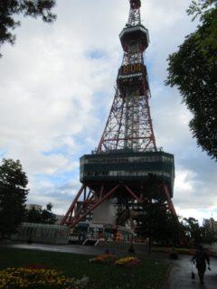 さっぽろテレビ塔は札幌市中央区大通西1丁目の大通公園内にある電波塔。