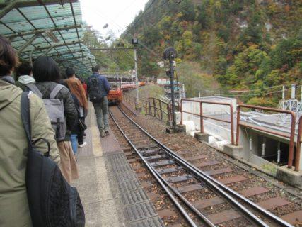 欅平駅は、富山県黒部市にある黒部峡谷鉄道本線の駅で、同線の終着駅。