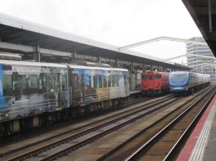 鳥取駅は、鳥取県鳥取市東品治町にある、JR西日本山陰本線・因美線の駅。