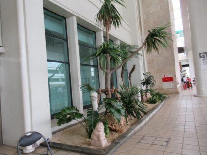 那覇空港は、沖縄県那覇市にある国内線の基幹空港。