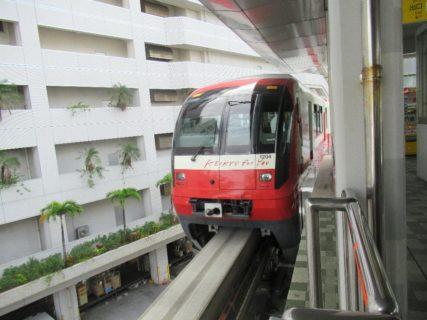 ゆいレールは、沖縄県那覇市の那覇空港駅と浦添市のてだこ浦西駅を結ぶ路線。
