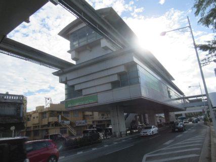 奥武山公園駅は、沖縄県那覇市奥武山町にある、沖縄都市モノレールの駅。