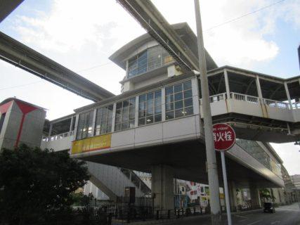 牧志駅は、沖縄県那覇市牧志三丁目にある、沖縄都市モノレールの駅。