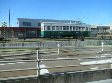 新吉久停留場は、富山県高岡市吉久にある万葉線の停留場。
