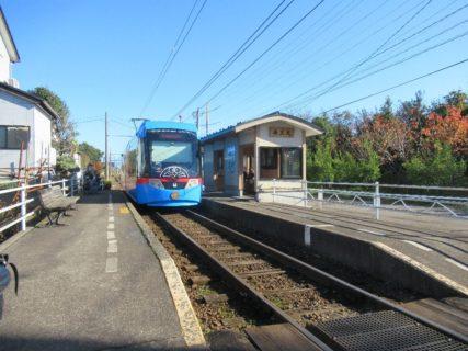 海王丸駅は、富山県射水市越の潟町にある万葉線新湊港線の駅。