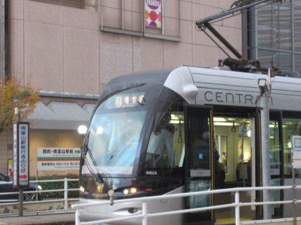 路面電車のまち富山、を名乗ってしまいましたか。