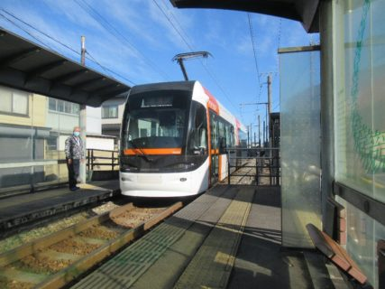 競輪場前駅は、富山県富山市岩瀬池田町にある、富山地方鉄道富山港線の駅。