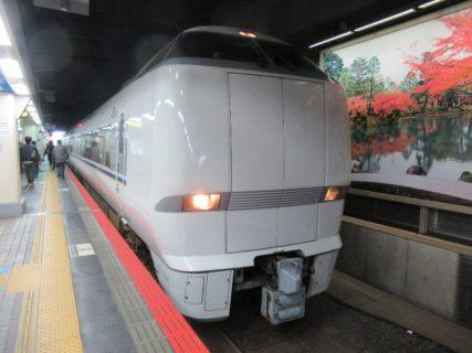 金沢から特急しらさぎ号で米原に向かいます。
