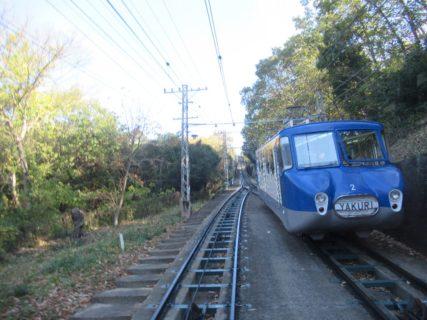 八栗山上駅は、香川県高松市牟礼町牟礼にある、四国ケーブルの駅。