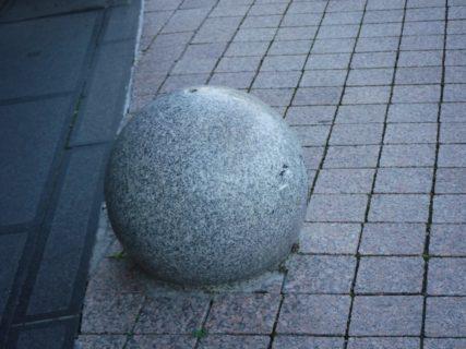姫路駅南口にもあった玉、何ですか?みたいな。