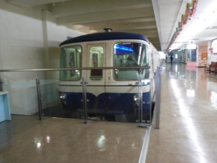 手柄山交流ステーションの旧姫路市営モノレール。