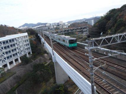 山陽新幹線をオーバークロスする地下鉄ってことで。