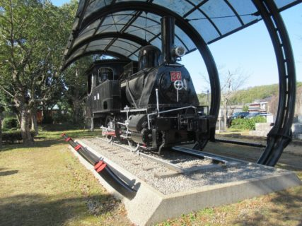 かつての大分交通宇佐参宮線を走った26号蒸気機関車。