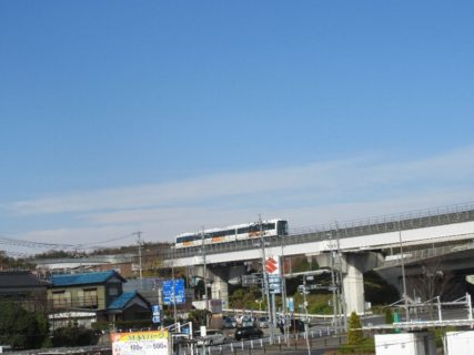 八草駅は、愛知県豊田市八草町石坂にある愛知環状鉄道・愛知高速交通の駅。