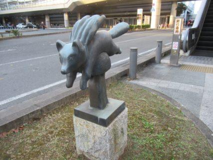 豊橋駅前広場やぺデストリアンデッキの動物達。