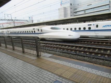 新幹線を乗り継いで浜松から岡山へと戻りますです。