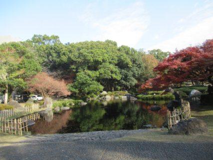 宮崎中央公園は、文化の森の副称がある。