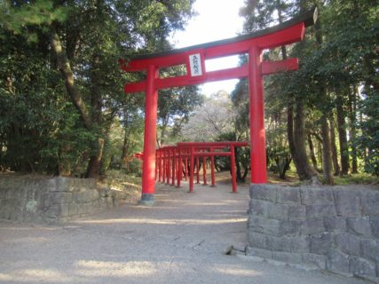 宮崎神宮の末社、五所稲荷神社。