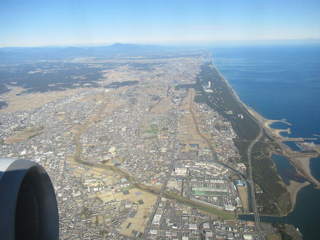 宮崎ブーゲンビリア空港を離陸いたしました。