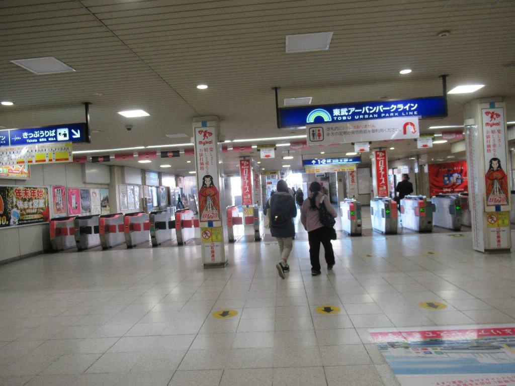 東武野田線は、路線愛称名に東武アーバンパークラインと名付けられた。