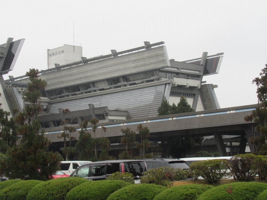 国立京都国際会館は、日本で最初の国立の会議施設。