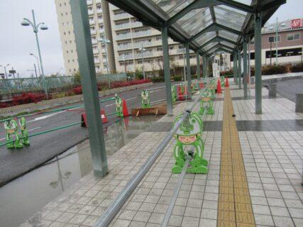 和泉中央駅バスロータリーの、おにいちゃん串w