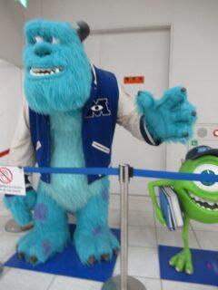 アニメに疎いんですが、PIXARって何ですか?な鹿児島中央駅。