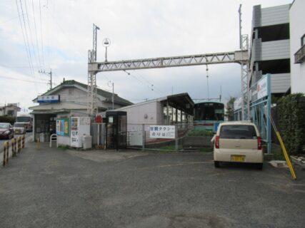 西鉄甘木駅は、福岡県朝倉市甘木にある西日本鉄道の駅。