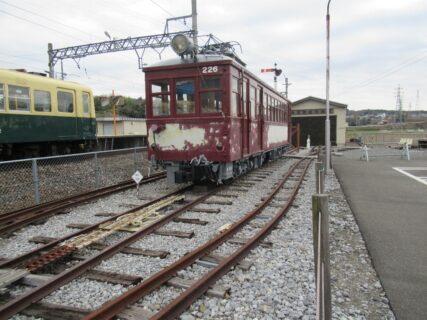 阿下喜駅に隣接する、軽便鉄道博物館でございます。