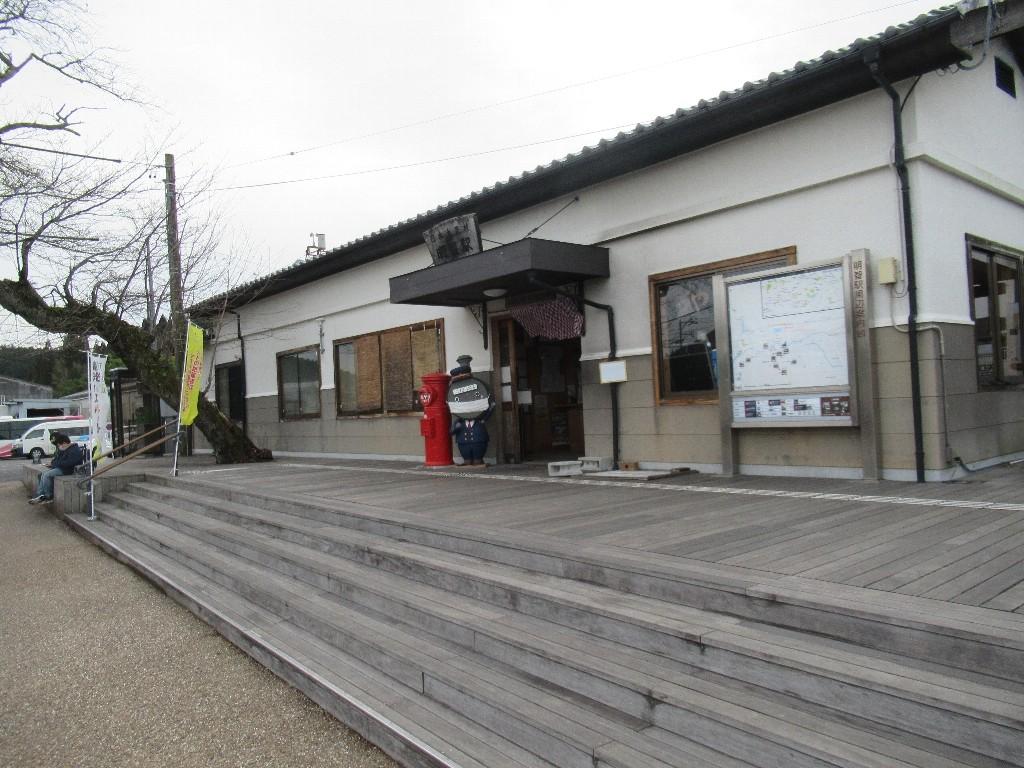 明智駅は、岐阜県恵那市明智町にある明知鉄道明知線の駅。