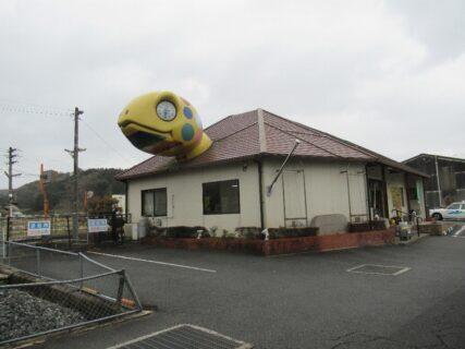 亀甲駅は、岡山県久米郡美咲町原田にある、JR西日本津山線の駅。