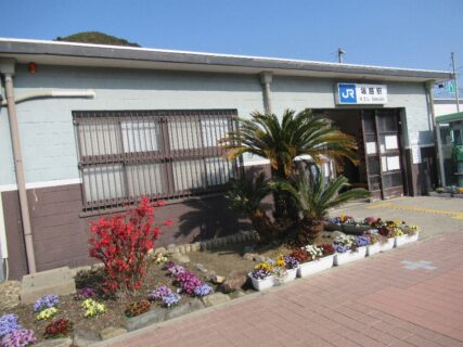 坂越駅は、兵庫県赤穂市浜市にある、JR西日本赤穂線の駅。