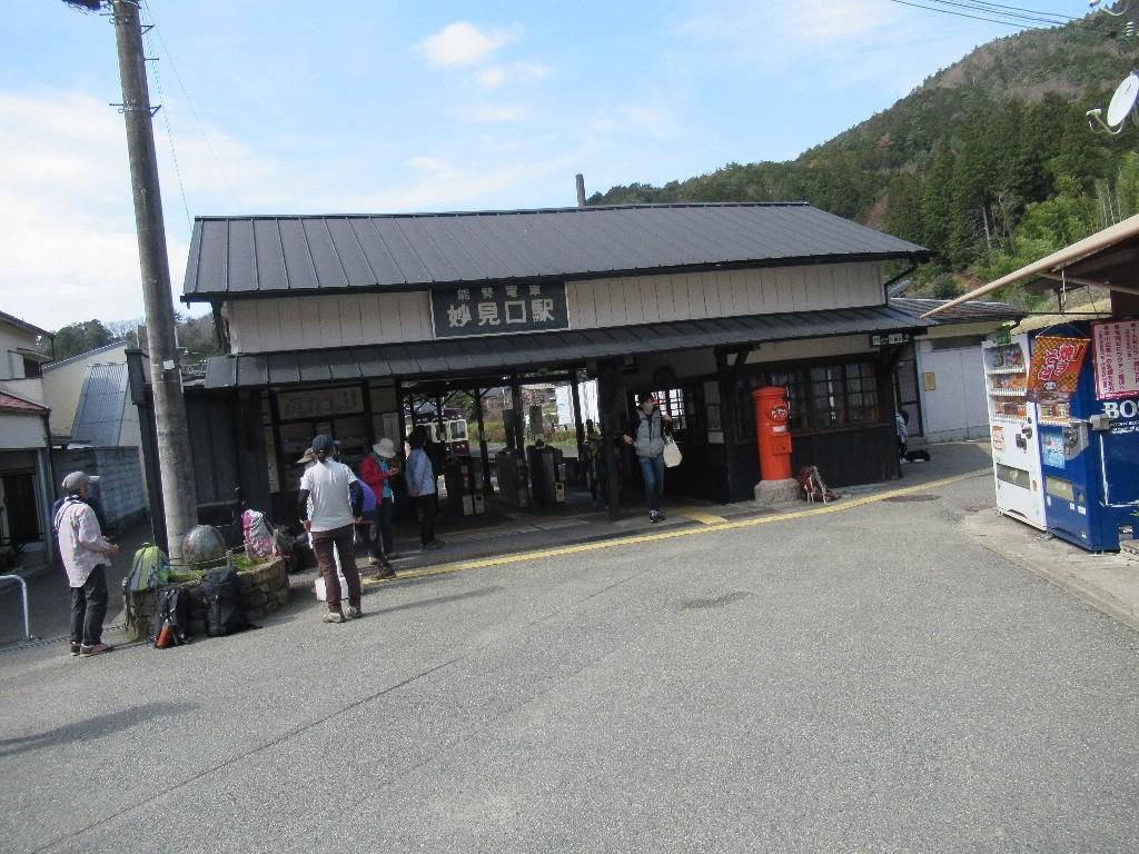 妙見口駅は、大阪府豊能郡豊能町吉川にある能勢電鉄妙見線の駅。