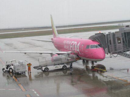 いわて花巻空港から、神戸空港に到着いたしました。