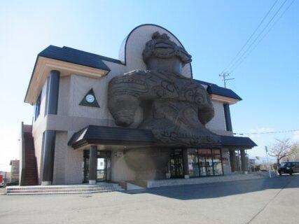 木造駅は、青森県つがる市木造房松にある、JR東日本五能線の駅。