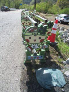 栃木県ご当地マスコット、とちまるくん串w
