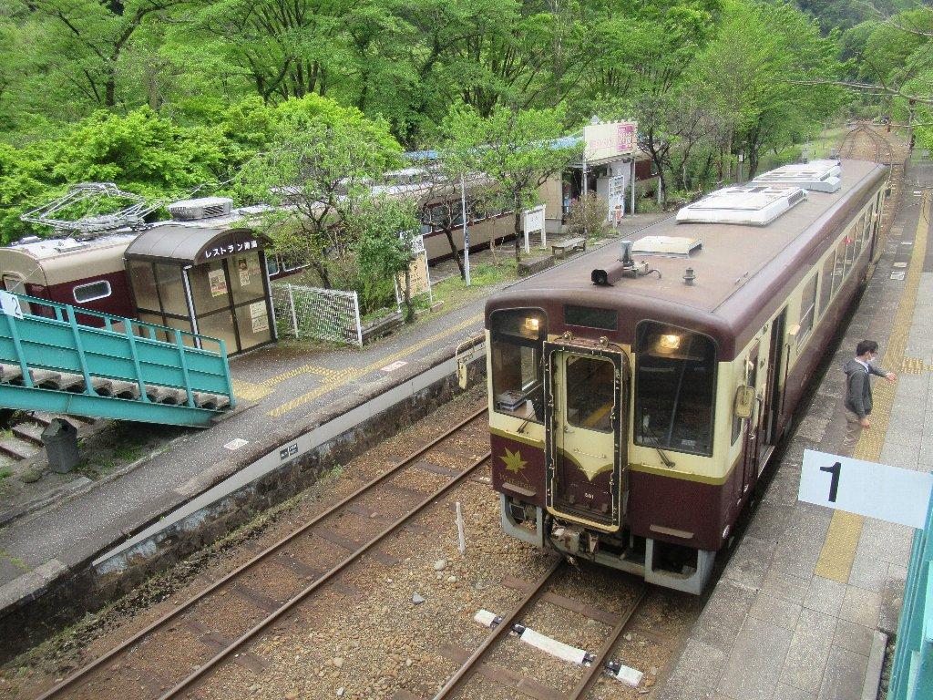 神戸駅は、群馬県みどり市東町神戸にある、わたらせ渓谷鐵道の駅。