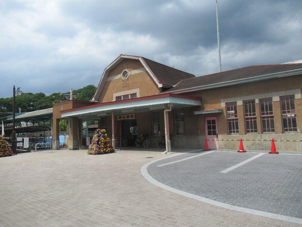 西桐生駅は、群馬県桐生市宮前町二丁目にある、上毛電気鉄道の駅。