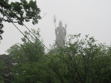 雲辺寺山頂、結構な魔界感が漂いますな。