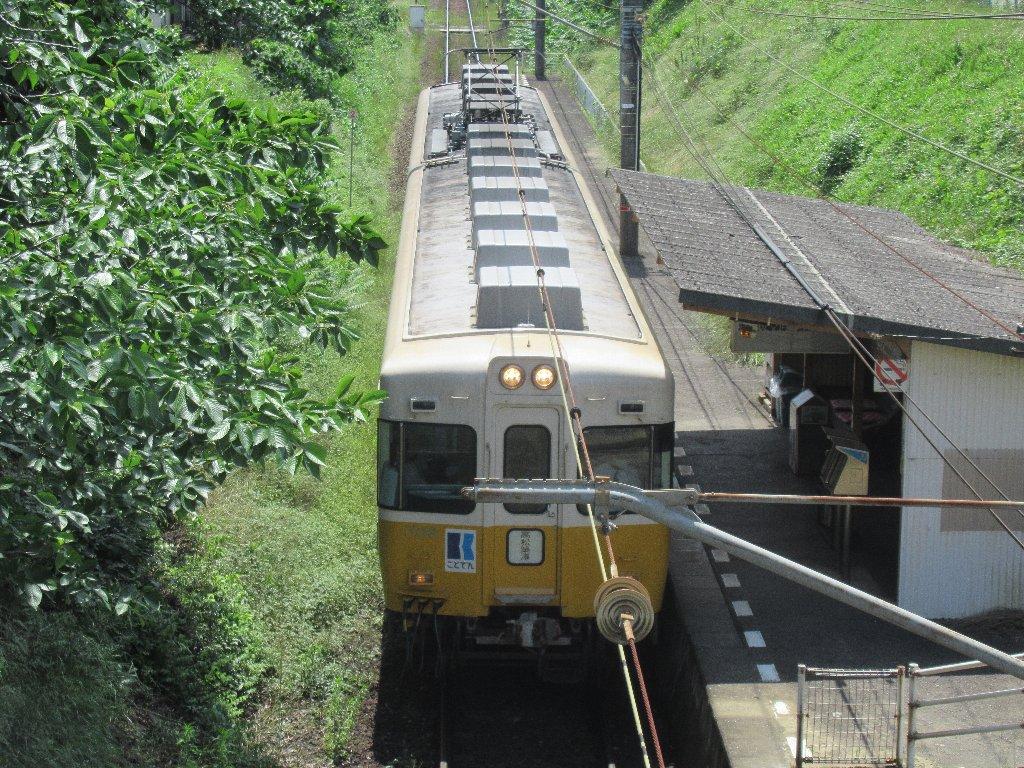 挿頭丘駅は、香川県綾歌郡綾川町畑田にある、高松琴平電気鉄道の駅。