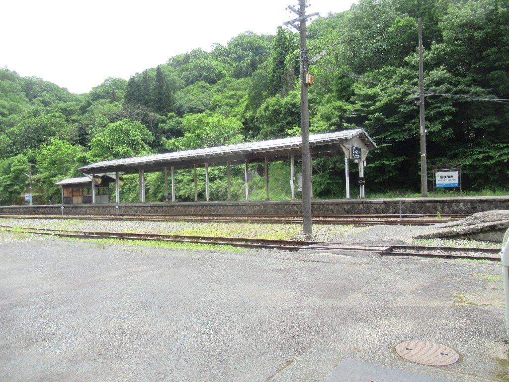 備後落合駅は、広島県庄原市西城町八鳥にある、JR西日本の駅。