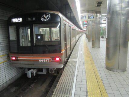 天下茶屋駅は、大阪市西成区岸里一丁目にある、大阪メトロ堺筋線の駅。