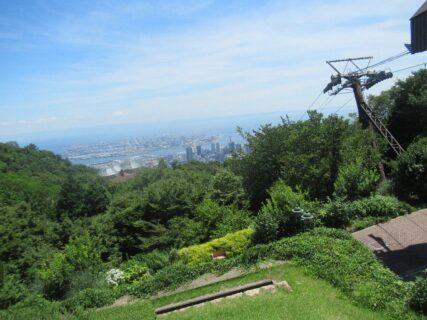 神戸布引ハーブ園からの眺めも、最高っすね。