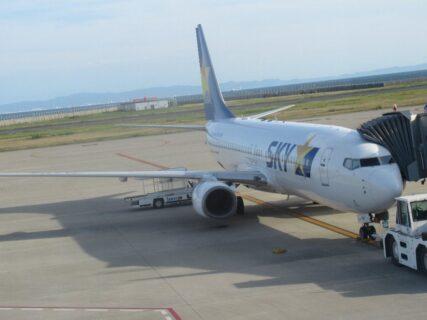 神戸空港からスカイマークで仙台へ。