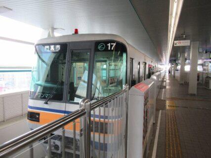 大阪モノレールで現在の終点、門真市駅へと。