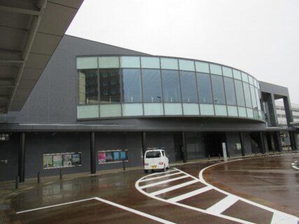 上越妙高駅は、上越市にある、JR・えちごトキめき鉄道の駅。